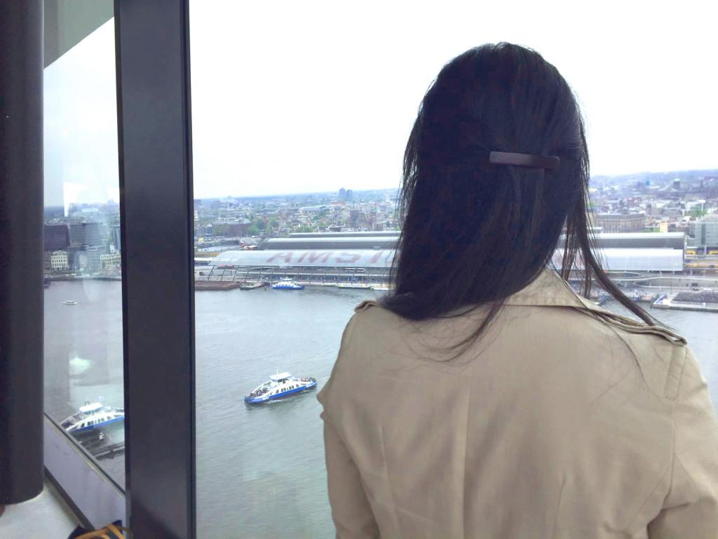 Apre La Torre Più Alta Di Amsterdam La Torre A Dam