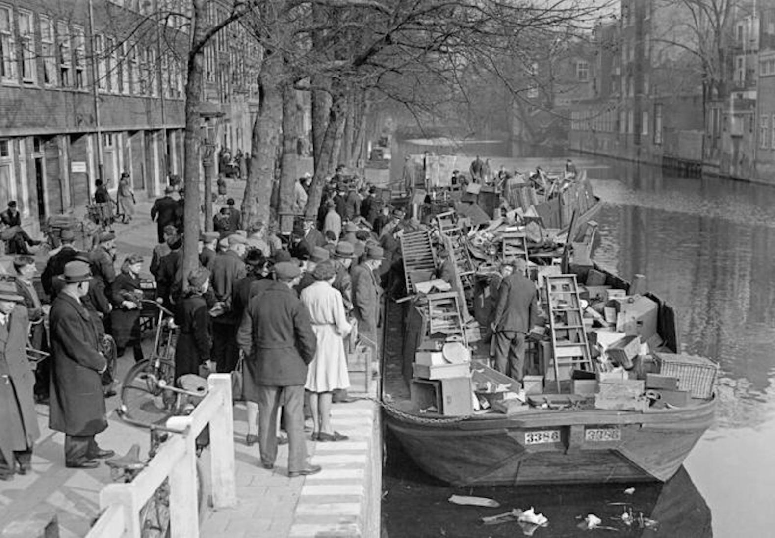 Amsterdam-seconda guerra mondiale e storia di anna frank