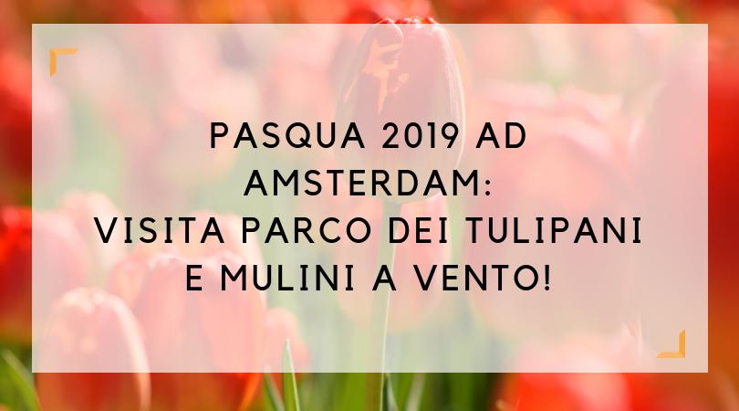 pasqua 2019 ad amsterdam-parco tulipani
