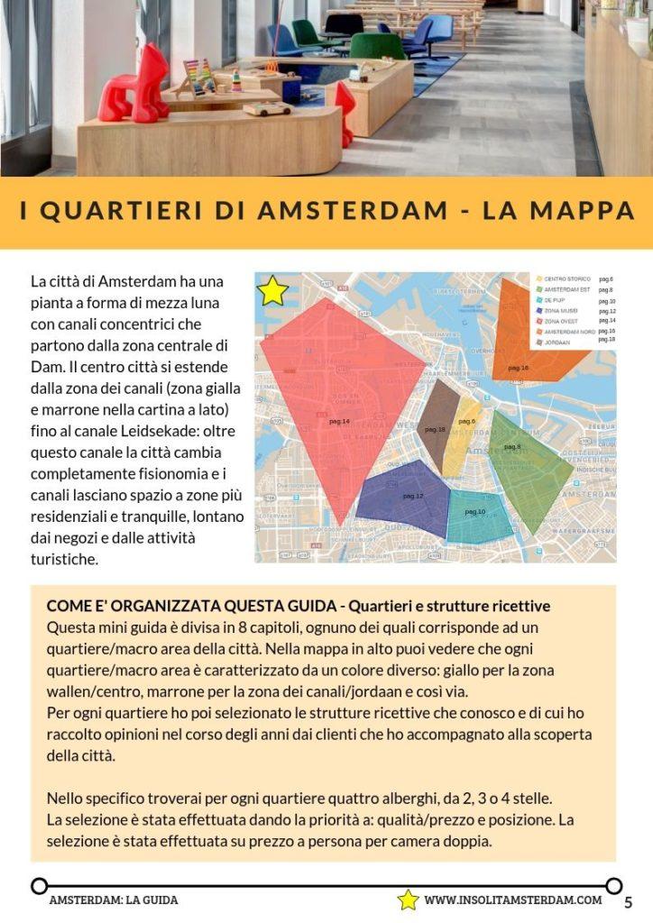 Dove dormire ad Amsterdam: mini guida agli hotel di Amsterdam