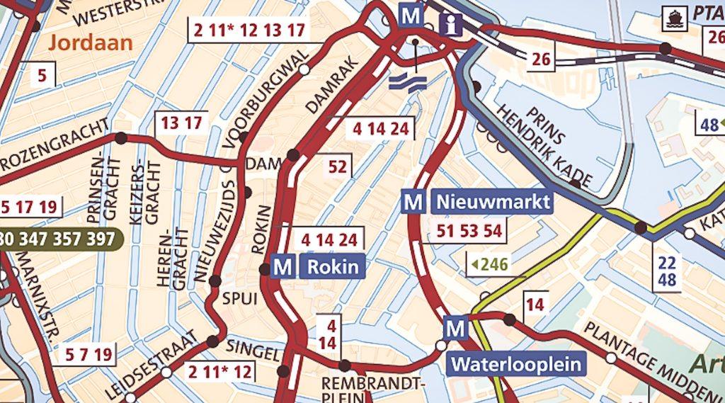 cartina di amsterdam scaricabile