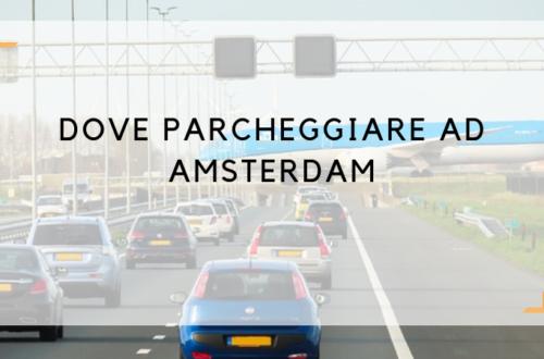 dove parcheggiare ad amsterdam